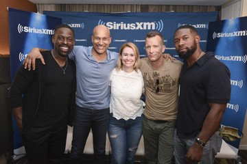 Trevante Rhodes SiriusXM's Entertainment Weekly Radio Broadcasts Live From Comic-Con In San Diego