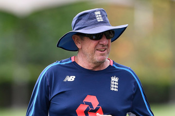 Trevor Bayliss England Nets Session