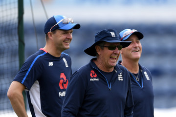 Trevor Bayliss England And Australia Net Sessions