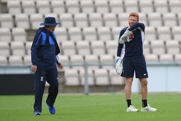 Trevor Bayliss England And India Net Sessions