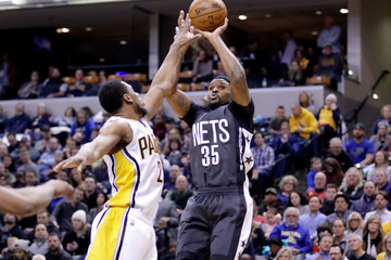Trevor Booker Brooklyn Nets v Indiana Pacers