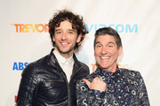 Actor Michael Urie and The Trevor Project founder and actor James Lecesne attend Trevor NextGen Spring Fling 2016 on April 15, 2016 in New York City.