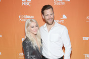 Julianne Hough (L) and Brooks Laich attend The Trevor Project's 2017 TrevorLIVE LA Gala at The Beverly Hilton Hotel on December 3, 2017 in Beverly Hills, California.