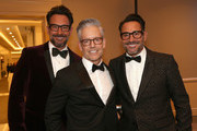 Gregory Zarian (L) and Lawrence Zarian (R) attend The Trevor Project's 2017 TrevorLIVE LA Gala at The Beverly Hilton Hotel on December 3, 2017 in Beverly Hills, California.