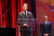 Honoree Jordan Roth speaks onstage at The Trevor Project's TrevorLIVE New York on June 13, 2016 in New York City.