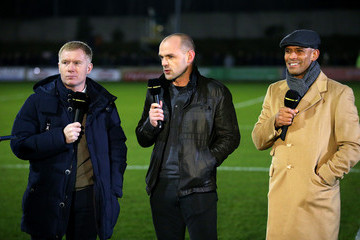 Trevor Sinclair Salford City v Hartlepool United - The Emirates FA Cup Second Round