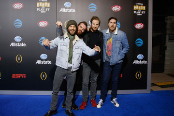 Trevor Terndrup Allstate Party at the Playoff Blue Carpet Photos