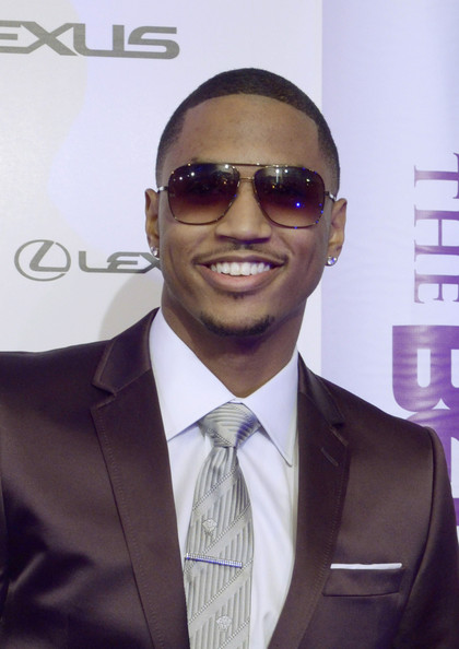 trey songz tattoos up close. Trey Songz - 4th Annual BET
