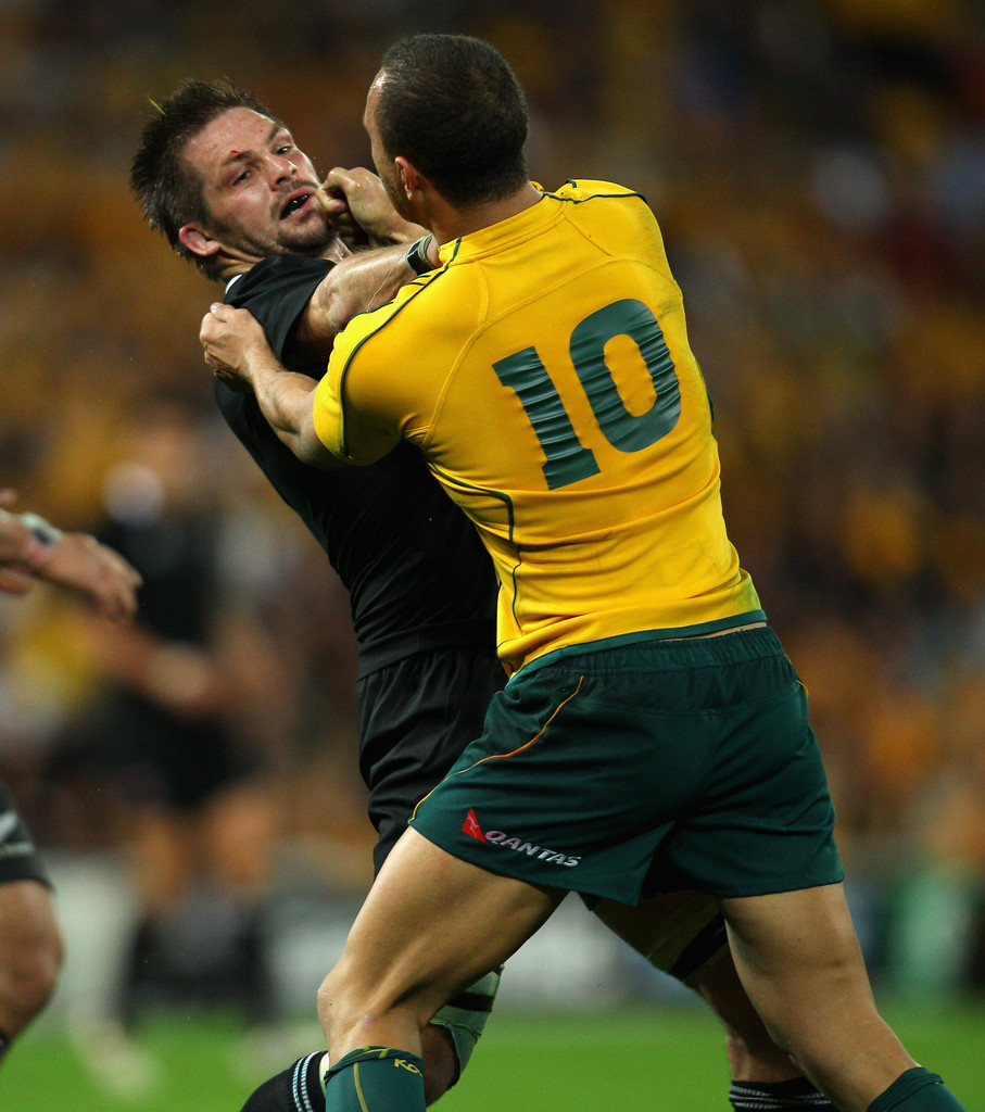 Quade Cooper Photos Photos Tri Nations Australia V New Zealand