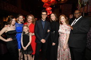 (L-R) Zoe Colletti, Louisa Krause,  Danielle Macdonald, Colbi Gannett, Guy Nattiv, Vera Farmiga, Jaime Newman and Daryle Lamont Jenkins attend at Tribeca Film Festival After-Party For Skin Hosted By AT&T/DTV And A24 At TAO Downtown Nightclub on May 01, 2019 in New York City.