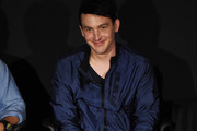 Robin Lord Taylor speaks at the Tribeca TV Festival sneak peek of Gotham at Cinepolis Chelsea on September 23, 2017 in New York City.