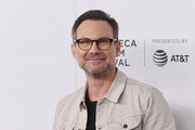 Christian Slater attends Tribeca Talks - A Farewell To Mr. Robot - 2019 Tribeca Film Festival at Spring Studio on April 28, 2019 in New York City.