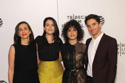 NEW YORK, NY during the APRIL 17:  (L_R) Lucia Aniello, Abbi Jacobson, Ilana Glazer and Paul W. Downs attend the Tribeca Tune In: Broad City during the 2016 Tribeca Film Festival at Spring Studios on April 17, 2016 in New York City.