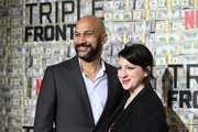 """(L-R) Keegan-Michael Key and Elisa Key attend the """"Triple Frontier"""" World Premiere at Jazz at Lincoln Center on March 03, 2019 in New York City."""