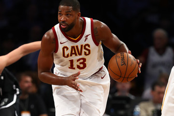 Tristan Thompson Cleveland Cavaliers v Brooklyn Nets