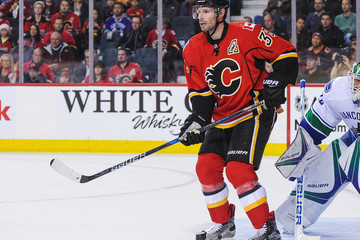 Troy Brouwer Vancouver Canucks v Calgary Flames