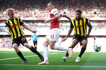 Troy Deeney Will Hughes Arsenal FC vs. Watford FC - Premier League