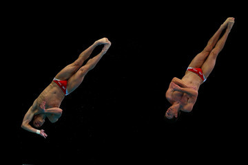 Troy Dumais FINA/Midea Diving World Series: Day One