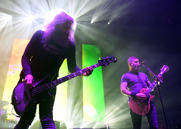 Troy Sanders Photos Photos - Coheed And Cambria And Mastodon