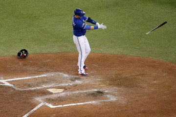 Troy Tulowitzki ALCS - Cleveland Indians v Toronto Blue Jays - Game Five