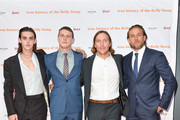 "(L-R) Earl Cave, George Mackay, Sean Keenan and Charlie Hunnam arrives at ""The True History Of The Kelly Gang"" World Premiere Party Hosted By Grolsch at Weslodge, during the Toronto International Film Festival on September 11, 2019 in Toronto, Canada."