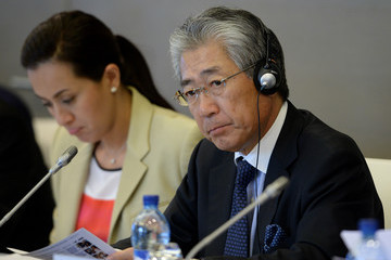 Tsunekazu Takeda 69th ANOC Executive Council Meeting - Day 2