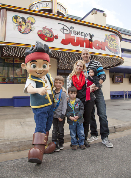 Melissa Joan Hart And Family At Disney Junior: Live On Stage!