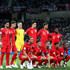 Harry Kane John Stones Photos - England team lines up prior to  the 2018 FIFA World Cup Russia group G match between Tunisia and England at Volgograd Arena on June 18, 2018 in Volgograd, Russia. - Tunisia Vs. England: Group G - 2018 FIFA World Cup Russia
