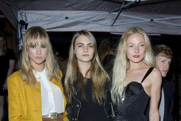 Clara Paget Cara Delevingne The British Heart Foundation Party in London