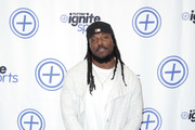 NFL player Chris Ivory attends Turner Ignite Sports Luxury Lounge on February 4, 2017 in Houston, Texas.