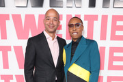 """Scott Mills and Lena Waithe attend """"Twenties"""" Premiere Event LA at Paramount Pictures on March 02, 2020 in Los Angeles, California."""