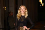 Clara Paget attends the UK premiere of 'Two For Joy' at The Everyman Cinema on September 26, 2018 in London, England.