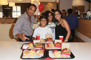 Jon Secada Surprises Customers at Wendy's