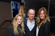 """Sea Louise Bensimon, Andrew Saffir and Kelly Killoren Bensimon attend the """"Two Turns From Zero"""" Book Launch Event at The Regency Bar and Grill on March 8, 2017 in New York City."""