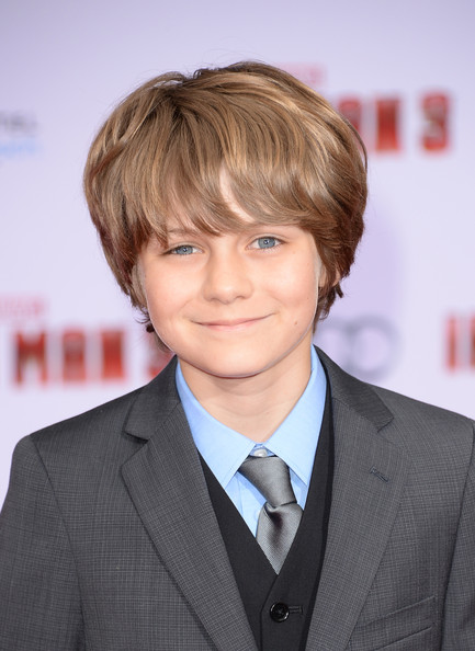 Ty Simpkins Pictures - Arrivals at the 'Iron Man 3 ...