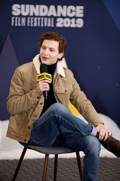 The IMDb Studio At Acura Festival Village On Location At The 2019 Sundance Film Festival – Day 4 [the mountain,sitting,fun,photography,performance,furniture,tye sheridan,location,acura festival village,utah,park city,imdb studio at acura festival village on location,imdb studio,sundance film festival]
