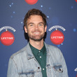 Tyler Hilton Lifetime's Christmas Movie Stars Kick Off Say 'Santa!' With 'It's A Wonderful Lifetime' Photo Experience