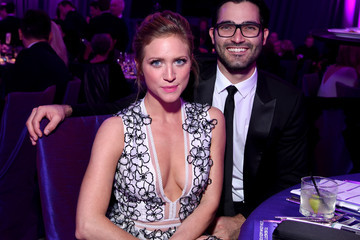 Tyler Hoechlin Inside the Elton John AIDS Foundation Oscars Viewing Party — Part 2
