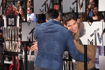 Tyler Hoechlin Tyler Posey Arrivals at the MTV Movie Awards — Part 2