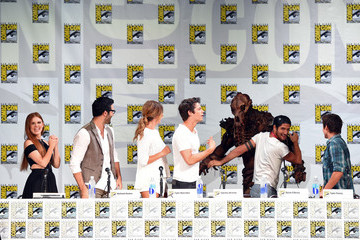Tyler Hoechlin Tyler Posey 'Teen Wolf' Panel at Comic-Con