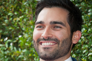 Tyler Hoechlin Arrivals at the John Varvatos Stuart House Benefit