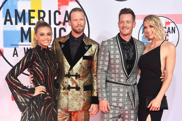 Tyler Hubbard Brittney Marie Cole 2018 American Music Awards - Arrivals