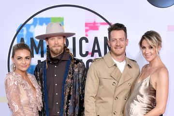 Tyler Hubbard Brittney Marie Cole 2017 American Music Awards - Arrivals
