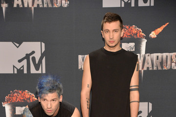 Tyler Joseph Press Room at the MTV Movie Awards — Part 2