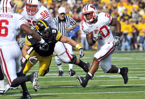 Tyler Sash and James White - Wisconsin v Iowa