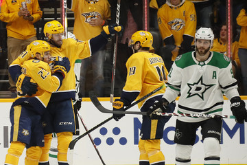 Tyler Seguin Dallas Stars vs. Nashville Predators - Game Two