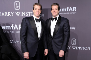 Tyler Winklevoss The amfAR New York Gala 2017 Sponsored by FIJI Water
