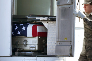 Tyler Wright Body Of Marine Killed In Afghanistan Returned To U.S. At Dover Air Force Base