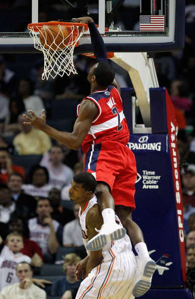 tyrus thomas pictures washington wizards v charlotte