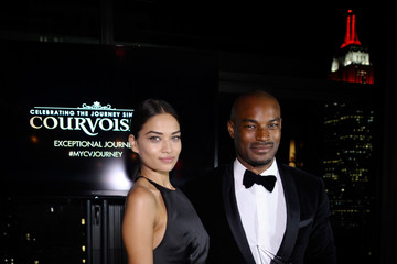 Tyson Beckford Shanina Shaik Courvoisier Launches Exceptional Journey Campaign